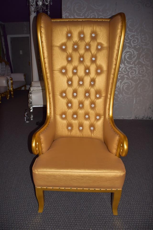 Single Seat Throne Gallery Sitting Royal